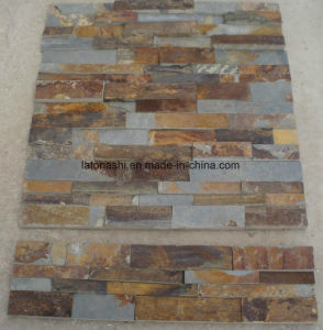 Natural Rusty Yellow Culture Stone for Home&Hotel Decoration pictures & photos