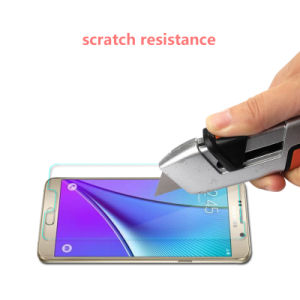 9h 0.33mm Thickness Tempered Glass Screen Protector for Samsung Note 5 pictures & photos