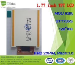 1.77 Inch 128*160 MCU 8bit, St7735s, 20pin TFT LCD Panel pictures & photos