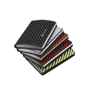 Promotion Gift Carbon Aramid Fiber Business Colorful Card Holder pictures & photos