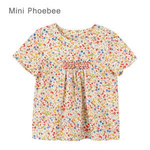 Wholesale Cotton Tops for Little Girls Summer Online pictures & photos