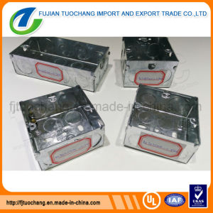 Galvanized Steel 3 X 3 & 3 X 6 Electric Conduit Box pictures & photos