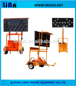 Trailer Mounted Big LED Arrow Board pictures & photos