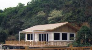 Beautiful House Made of Prefab Steel Structure pictures & photos