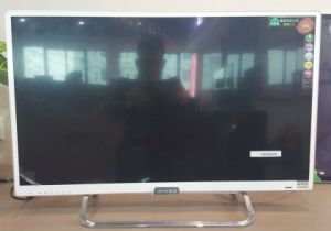 "32"" FHD Steel Glass Smart LED TV with DVB-T2 pictures & photos"