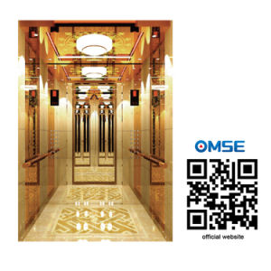 Luxury Passenger Elevator with Good Decoration pictures & photos