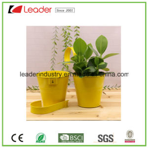 Powder Coated Metal Flowerpots for Home and Garden Decoration pictures & photos