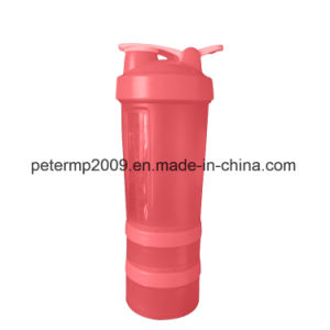 3 Layers 600ml Direct Drinking Active Hydrogen Water New Design Shaker Water pictures & photos