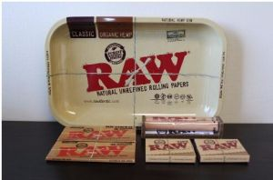 Raw Jumbo Deal Large Metal Rolling Tray pictures & photos
