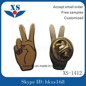 Enamel Custom Star Shape Metal Lapel Pin Badge pictures & photos