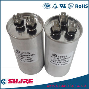 AC Motor Run Air Conditioner Cbb65 Capacitor Dual Capacitor 30+1.5UF pictures & photos