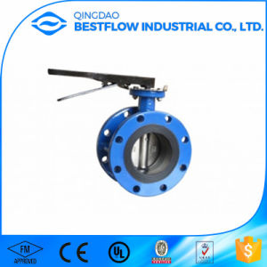 Ductile Iron 6 Inch Motorized Sanitary Price Butterfly Valve pictures & photos