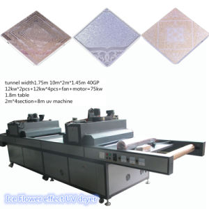TM-UV8m Ice Flower Effect UV Dryer for Glass Screen Printing pictures & photos