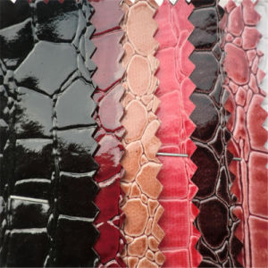 Synthetic Crocodile PVC Leather for Bags Making pictures & photos