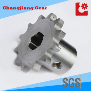 Wheel Chain Rear Gear Welded Sprocket with Square Hole pictures & photos
