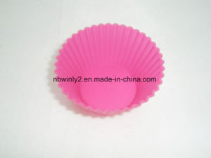 Small Round Muffin Silicone Mould pictures & photos