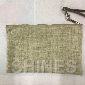 Gold Women Fashion Linen Handbag pictures & photos