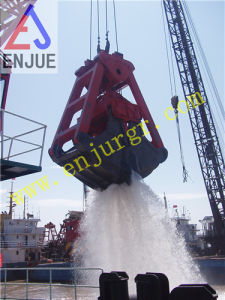 Two Four Rope Clamshell Dredging Grab Bucket for Dredger Mud Sand pictures & photos