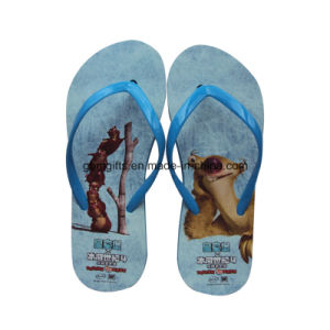 New Design Soft EVA Foaming Slippers Floral Printed Beach Flip Flop Slippers for Fashion Ladies pictures & photos