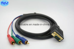 VGA to 3RCA Cable pictures & photos