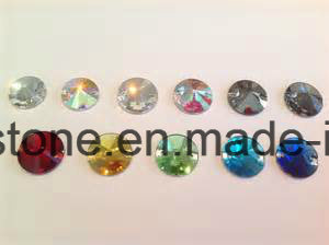 Mixed Shapes Clear Ab Sew-on Flat Back Glass Rhinestones pictures & photos