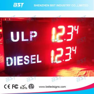 Outdoor Waterproof LED Oil Price Sign with RF Remote Control pictures & photos