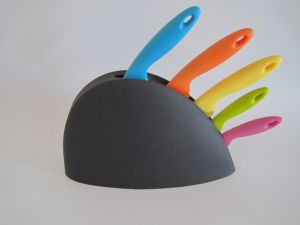 Stainless Steel Kitchen Knife Set Kns-B012 pictures & photos