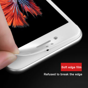 3D Full Cover Phone Accessories Protective Blue Film Tempered Glass Screen Protector for iPhone 7 pictures & photos