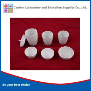 Porcelain Tight Crucible for Lab pictures & photos