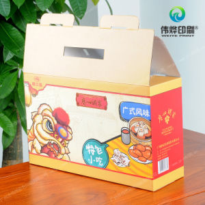 Offset Printing Cardboard Printing Paper Packaging Box (for Food) pictures & photos
