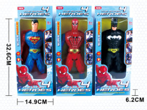 Boy Gift Figure Toys Plastic Doll with Light (H9794034) pictures & photos