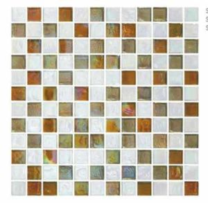 Yellow Color Mosaic Wall Tile, Glass Mosaic pictures & photos