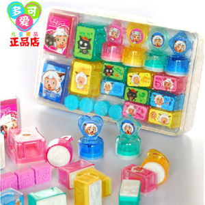 Wholesale Kids Toy Handle Plastic Stamp for Sale pictures & photos