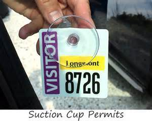 Swing Ticket and Hangtag for Parking Permit pictures & photos