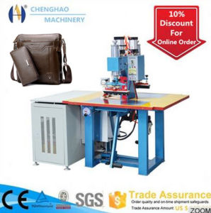 Leather Embossing Machine, 2 Times More Efficient Plastic Welding Machine for Leather Embossing pictures & photos