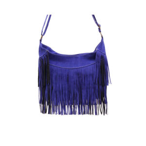 Hot Sale Fashion Girl Tassel Bag PU Fringe Shoulder Bag Wzx1129 pictures & photos
