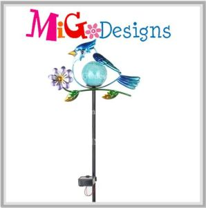 LED Light Metal Owl Solar Powered Garden Stake OEM pictures & photos