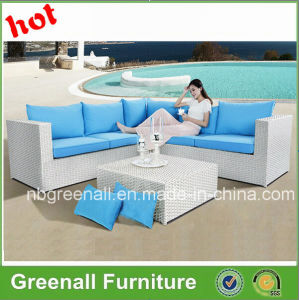 New Style Synthetic White Cheap Rattan Outdoor Furniture pictures & photos