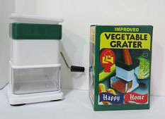 Small Size Plastic Vegetable Grater with Lid No. G011 pictures & photos