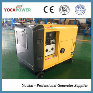 5kVA Air Cooling Portable Power Silent Generator Set pictures & photos