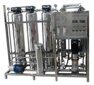 Stainless Steel 500lph Industrial Drinking Water Filter with RO System pictures & photos