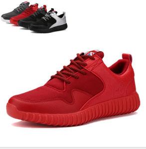 Cool Design Contrast Color Men′s Sports Shoes pictures & photos