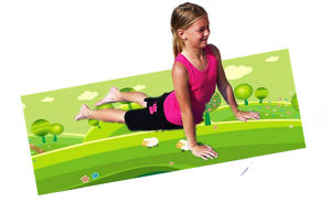 Lovely Design Printed Yoga Mat for Children, Kids Exercise Mat pictures & photos