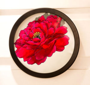 Round Decorative Hanging Wall Wooden Frames pictures & photos
