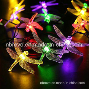 16FT 20LED Solar Powered Dragonfly String Lights (RS1017) pictures & photos