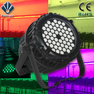 Waterproof 54X3w Stage PAR Can Light LED PAR pictures & photos