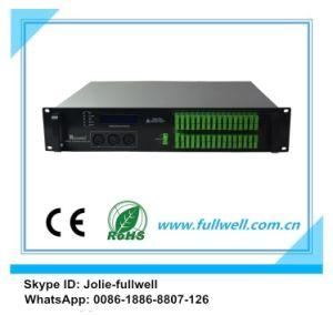Fullwell 64/32/16/8/4 Ports Fiber Optical 1550nm CATV EDFA / CATV Amplifier (FWA-1550H-64X15) pictures & photos