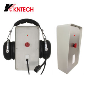 Waterproof Phone One Push Button with Headset Port Knzd-65 Kntech pictures & photos