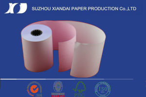 Fsc NCR Paper Roll Carbonless Paper Roll for POS Machines pictures & photos