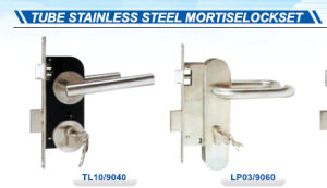 Tube Stainless Steel Mortise Lockset pictures & photos
